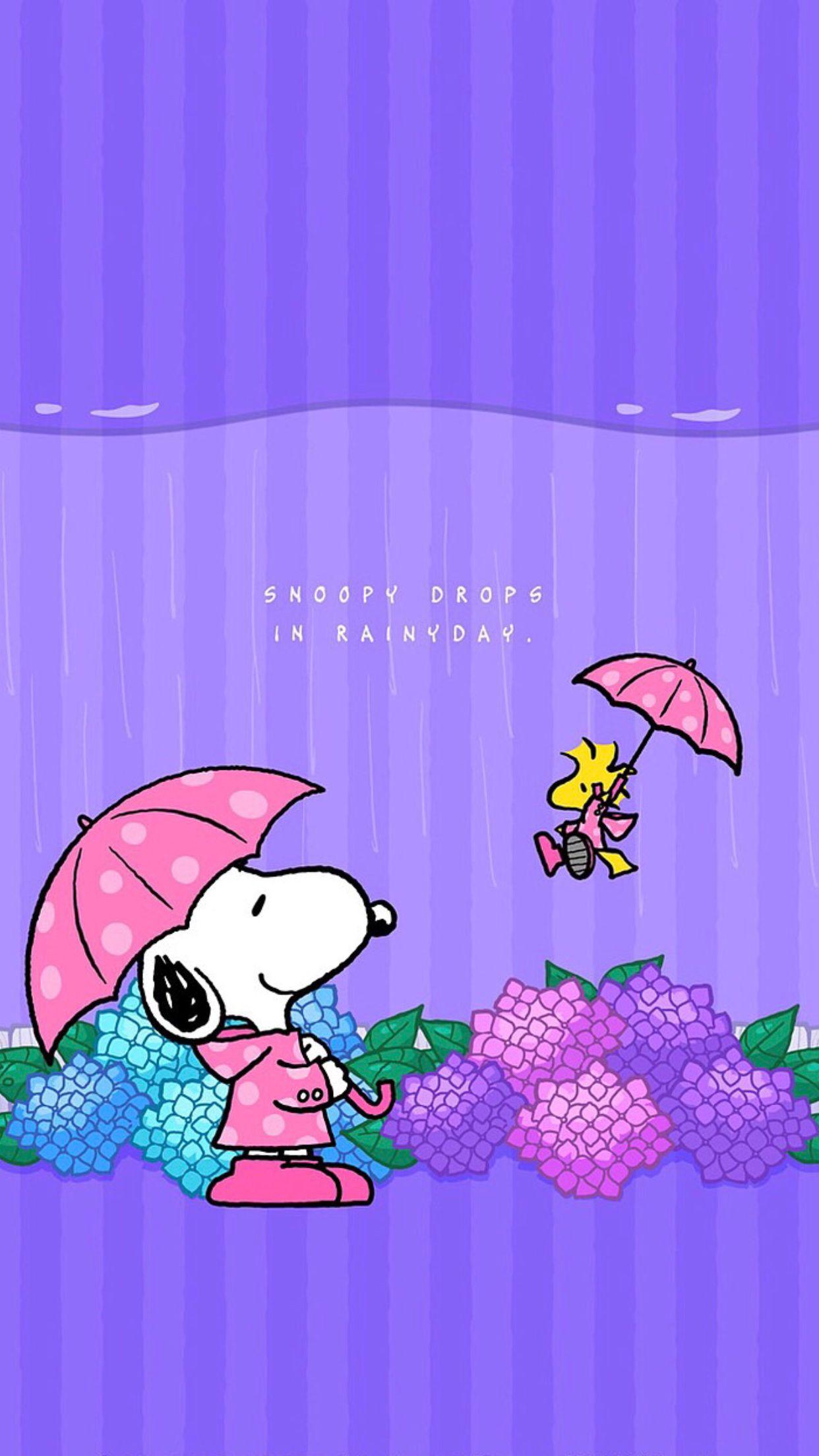 Snoopy Drops Snoopy wallpaper, Snoopy love