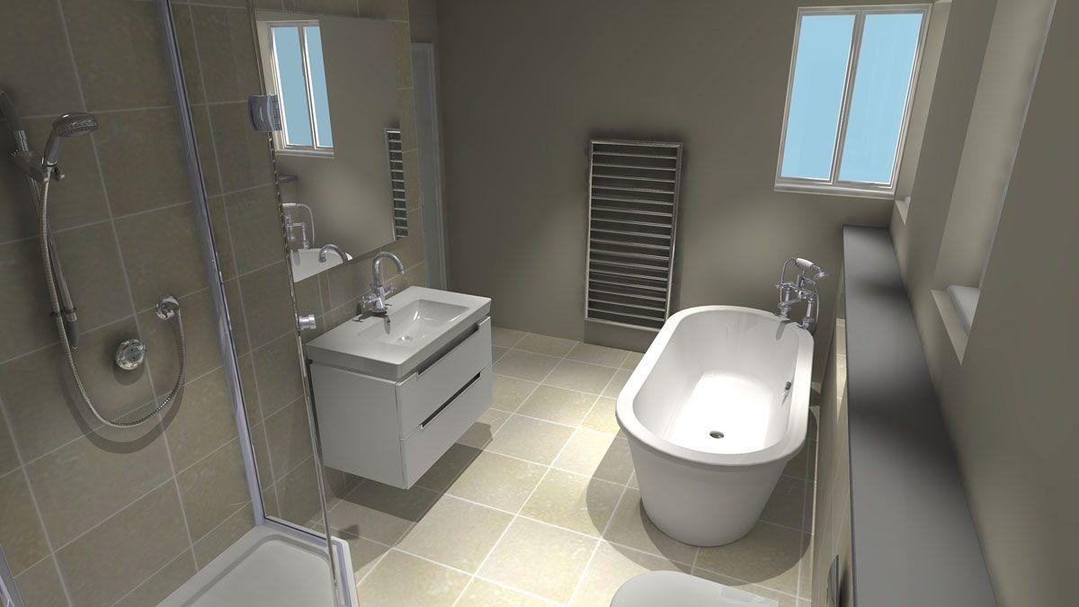 Irregular Shaped Bathroom A Challenging Brief The Floor Plan