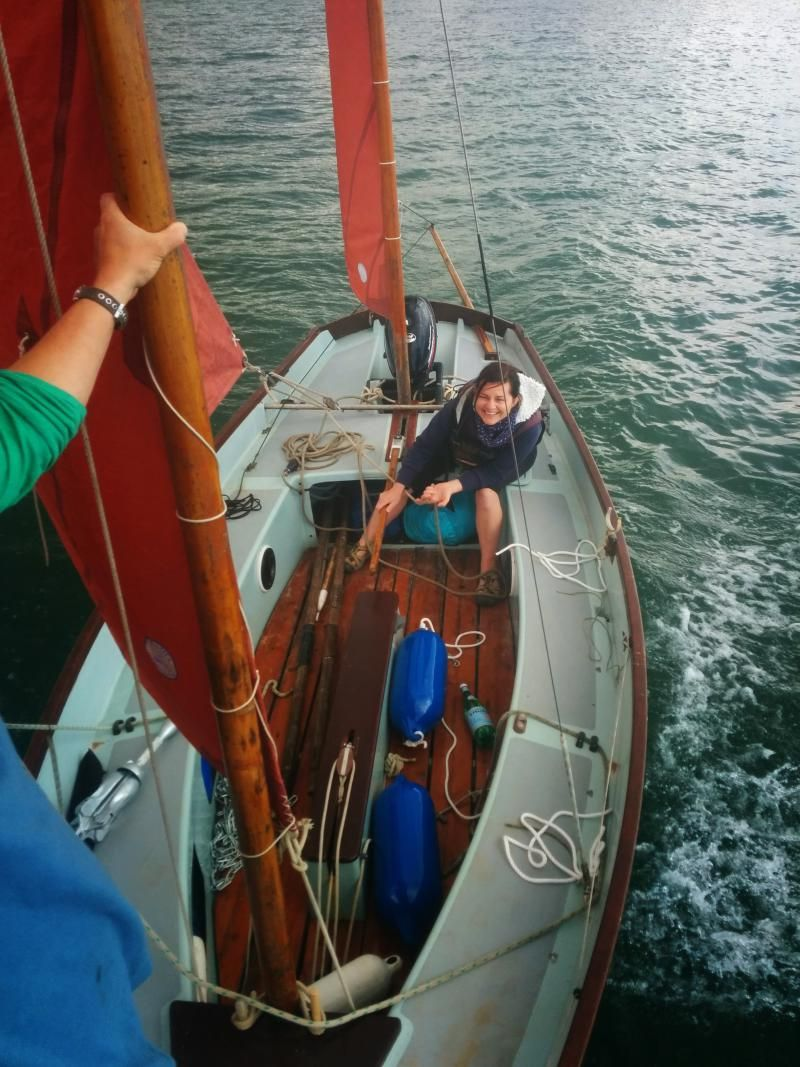 Drascombe Lugger | Drascombe | Pinterest | Boating, Wooden boats and Wooden boat building