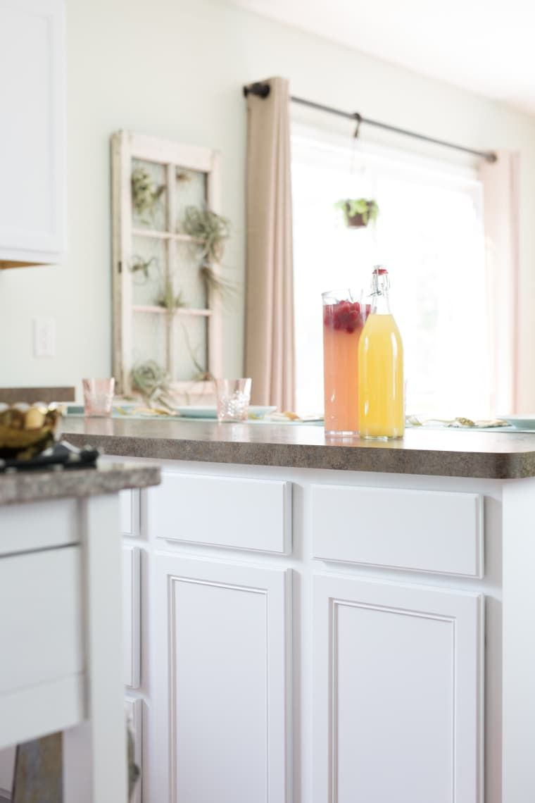 how to clean painted wood cabinets home remodel cleaning rh in pinterest com