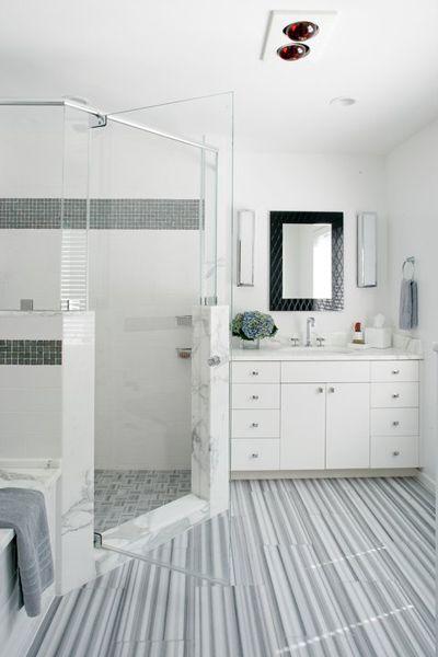 modern bathroom marble floor tile artistic tile marmara marble 12x24 rh pinterest com