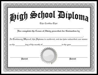 Make A Diploma Template Kleobeachfixco - High school diploma template pdf