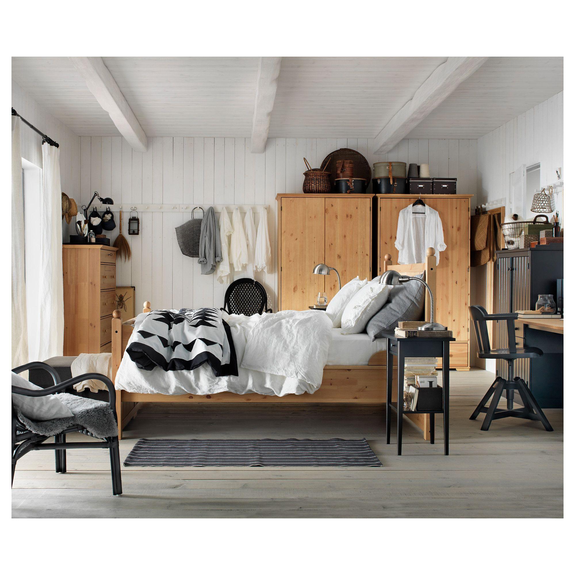 ikea hemnes nightstand black brown bedroom scandinavian kids rh pinterest com