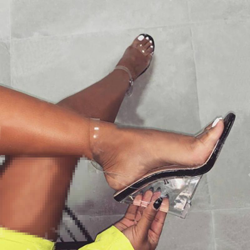 Clear shoes, Shoes heels classy