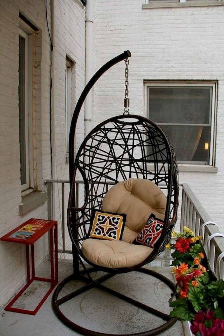 60 Little Balcony Decoration Ideas #smallbalconyfurniture