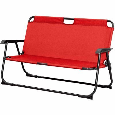 Find Red Shed Folding Tailgating Bench In The Furniture