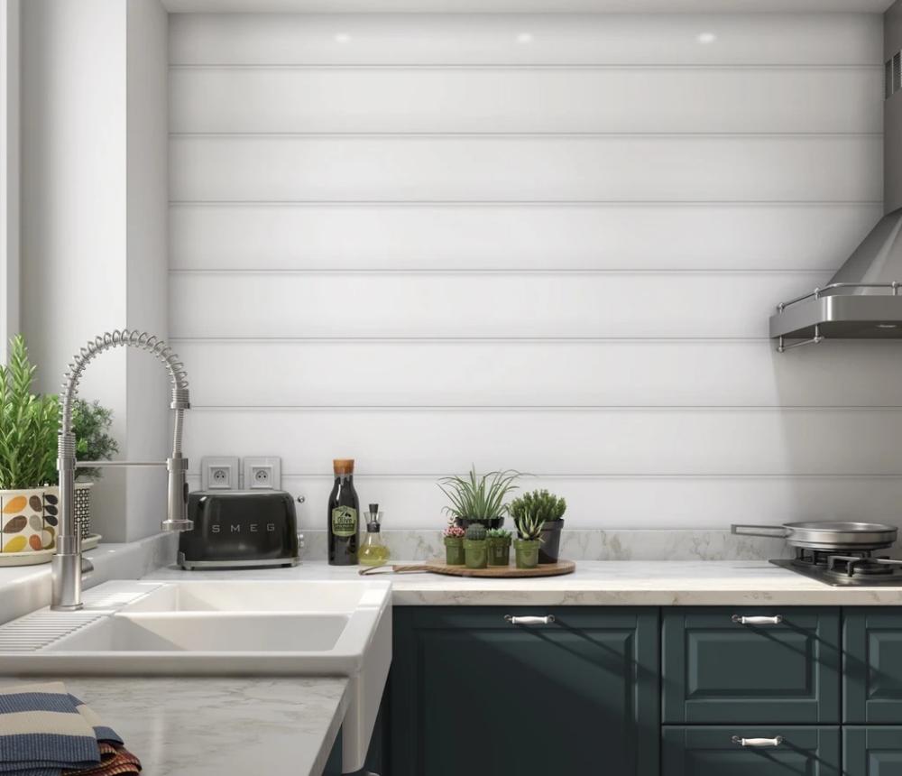 Anniston - Shiplap peel and stick wallpaper in 2020 | Peel ...