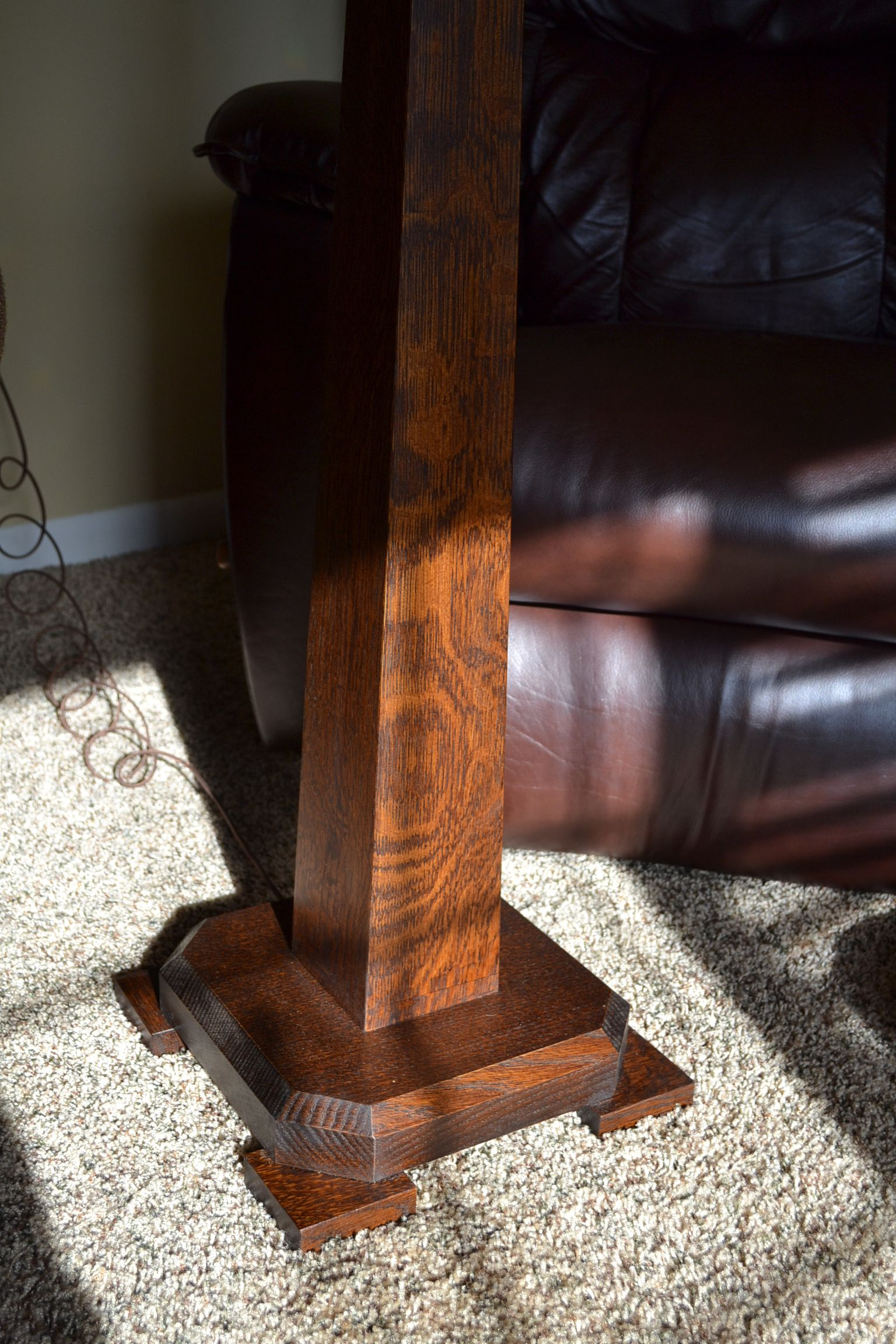 Saugatuck Arts and Crafts Oak Floor Lamp | Saugatuck Arts and Crafts ...