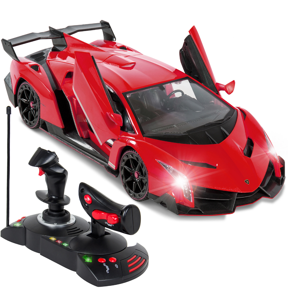 Best Choice Products 1 14 Scale Remote Control Car Lamborghini Veneno Toy W Gravity Sensor Engine Sounds Lights Red Walmart Com In 2021 Rc Cars For Sale Remote Control Cars Radio Controlled Cars