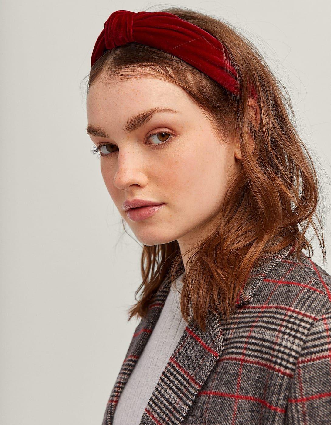 bonne vente meilleurs prix Conception innovante Rigid velvet headband | Accessorize | Serre tête, Bandeau et ...