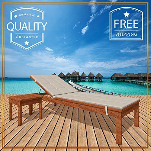 mafrelia luxurious eucalyptus sun lounge chair chaise wooden patio rh pinterest com