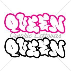 The Word Queen In Graffiti Style Graffiti Words Lettering Alphabet Fonts Lettering Alphabet