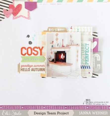 Elle's Studio: Design Team Highlight: Limited Edition ES September Kit