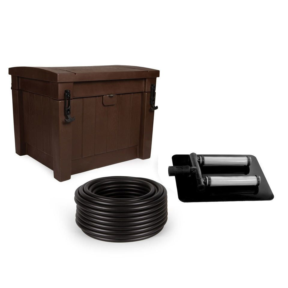 Deep water aeration system for ponds up to 1 acre pond