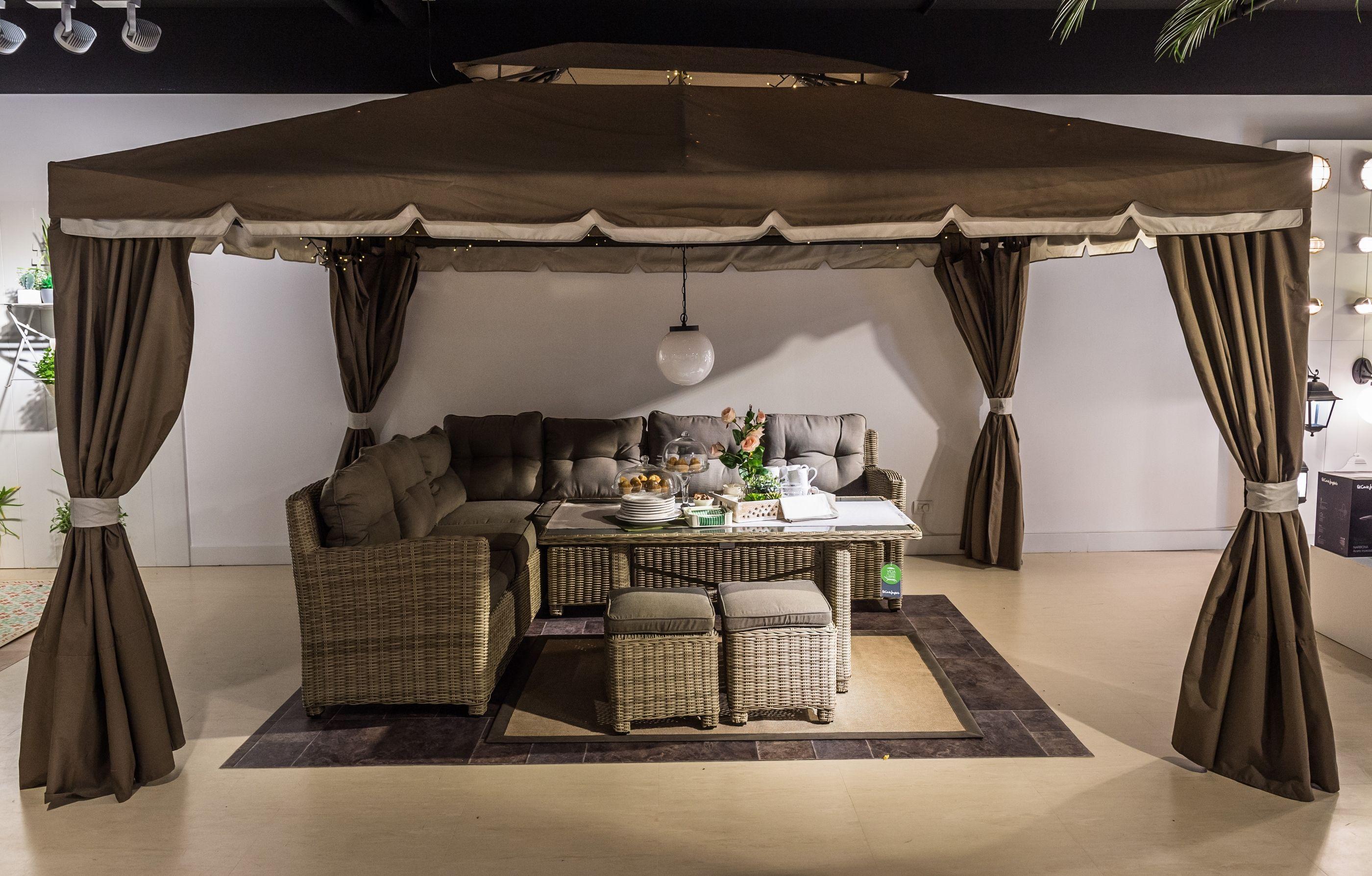 Set De Jard N Provenza 2 M Dulos Sof 2 Taburetes 1 Mesa Alta  ~ Muebles De Terraza El Corte Ingles