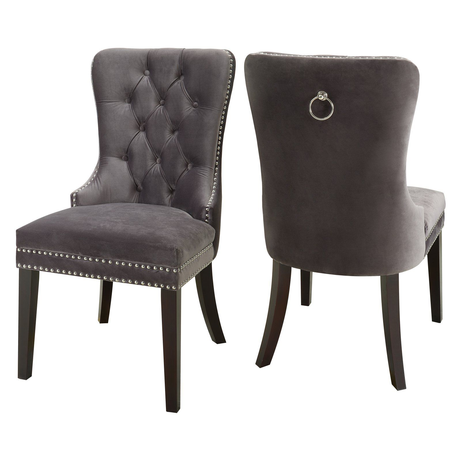 Furniture Inc Nikki Velvet Dining Chair