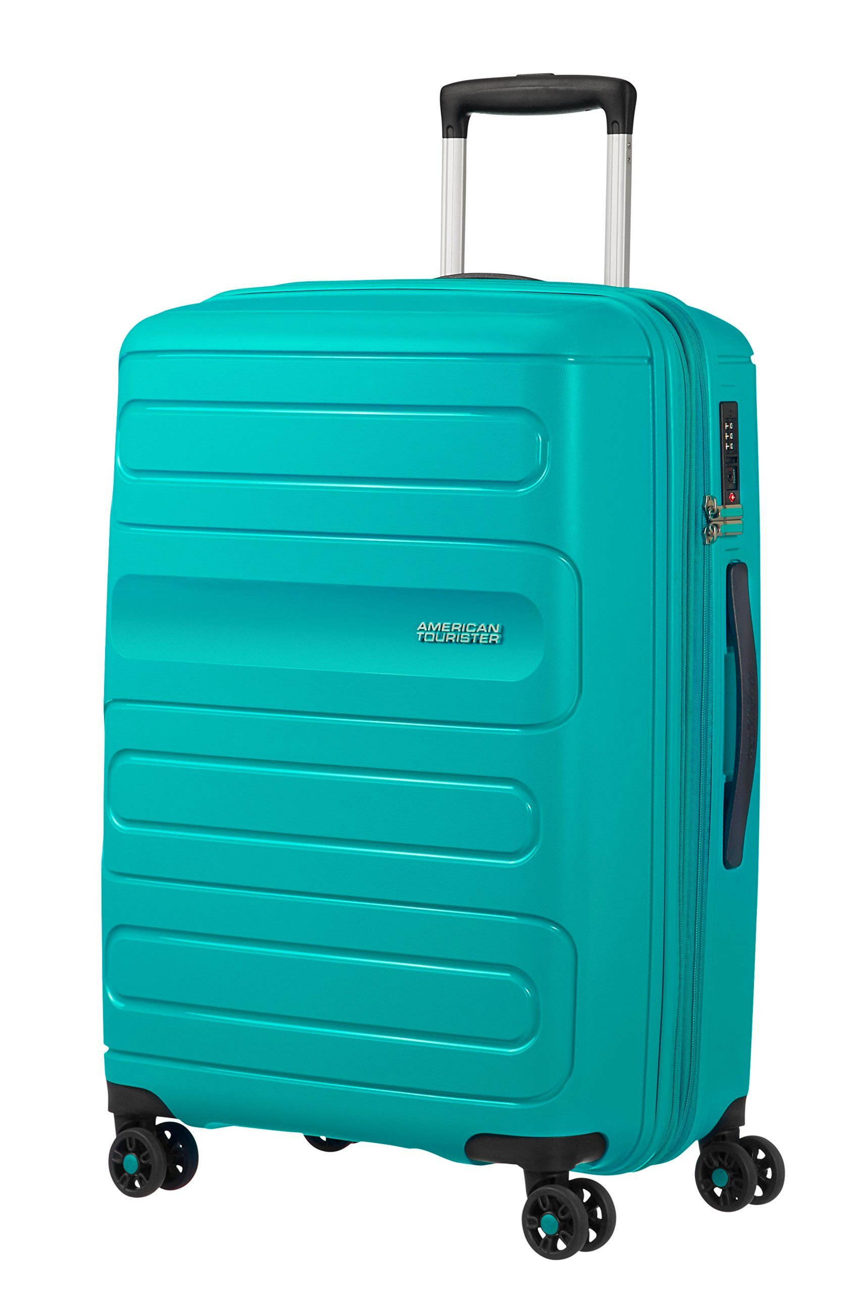 American Tourister Sunside Spinner 68 Expandable 3 7 Kg 72 5 83 5l Hand Luggage Suitcases Luggage Sets Travel Totes Children S Luggage Uk