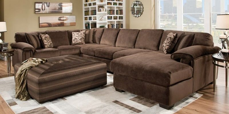 Fabulous Extra Large Sectional Sofas With Chaise In 2019 Oversized Machost Co Dining Chair Design Ideas Machostcouk
