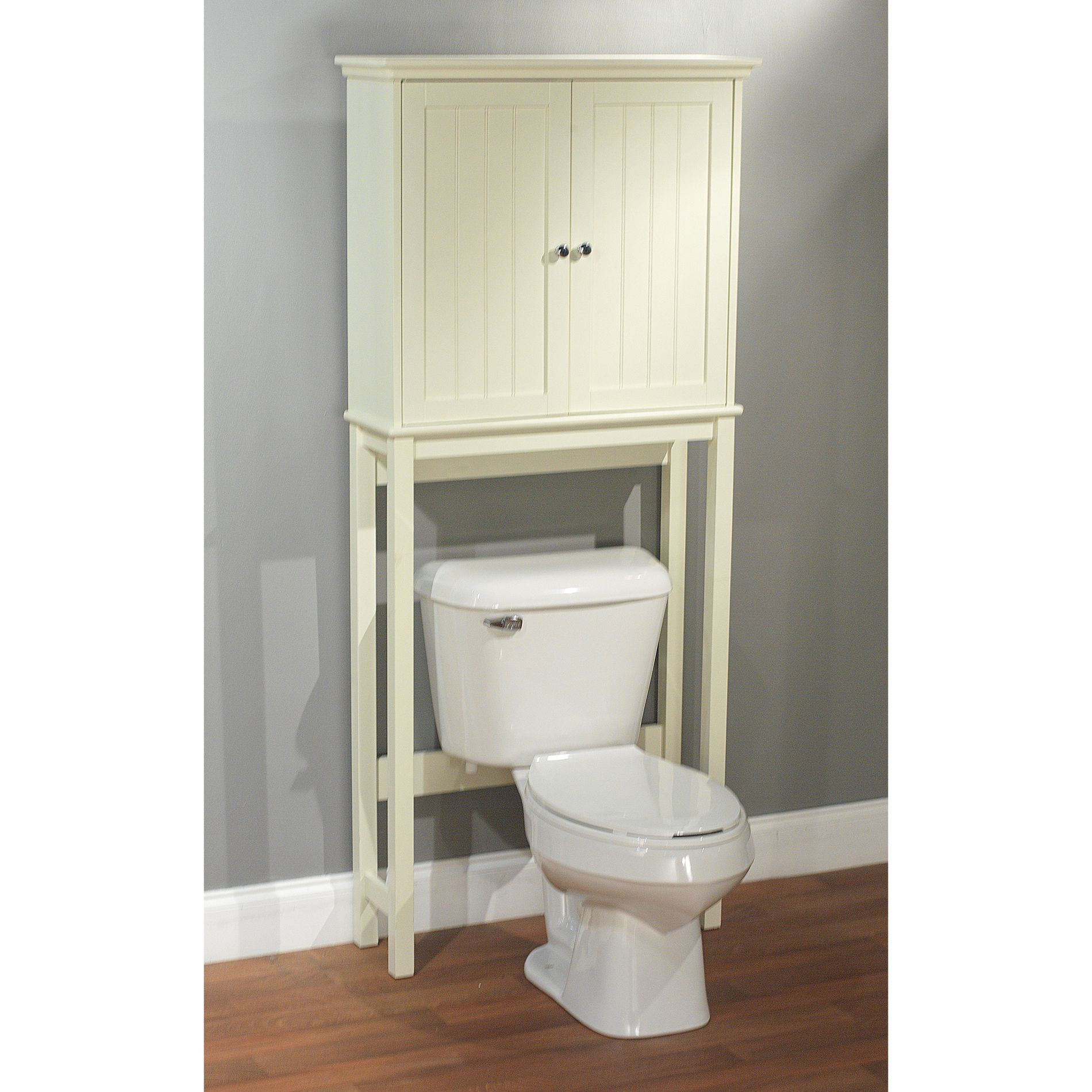 unique bathroom space saver over toilet cabinet with engineered wood rh pinterest at