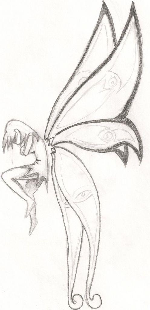 Easy Fairy Drawings - Drawing Pencil | Fairy drawings, Art ...