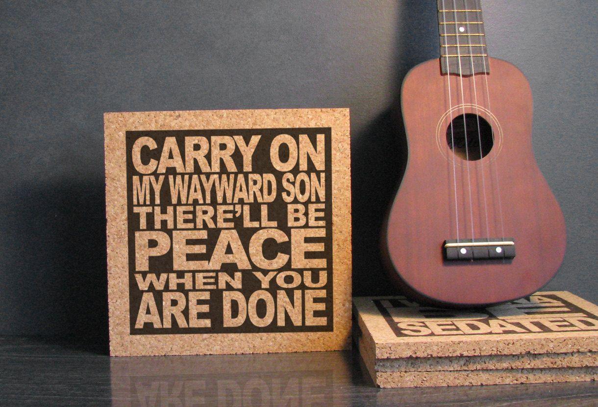 SUPERNATURAL KANSAS Carry On My Wayward Son There'll
