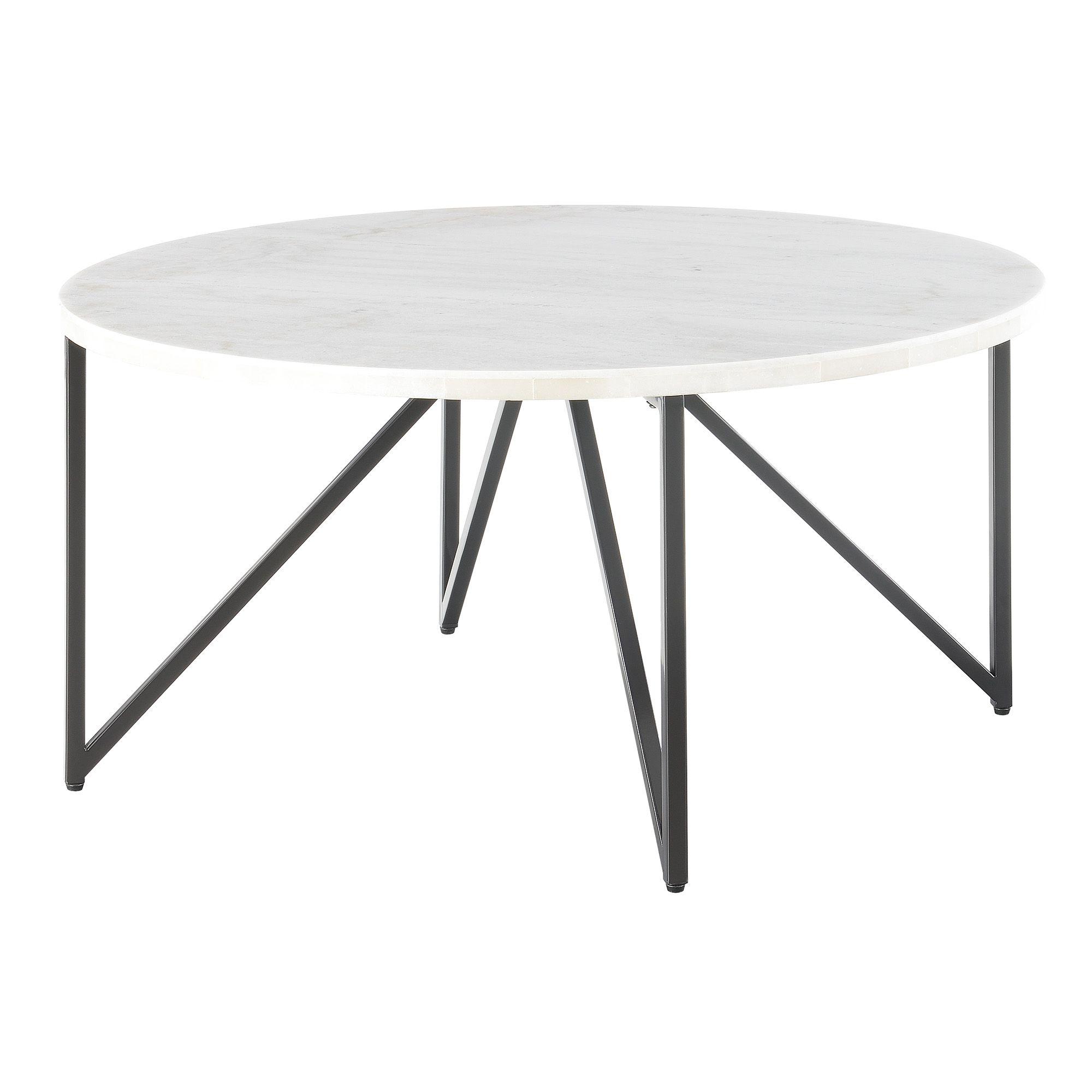 Picket House Furnishings Kinsler Round Coffee Table Walmart Com White Round Coffee Table Round Coffee Table Coffee Table [ 2000 x 2000 Pixel ]