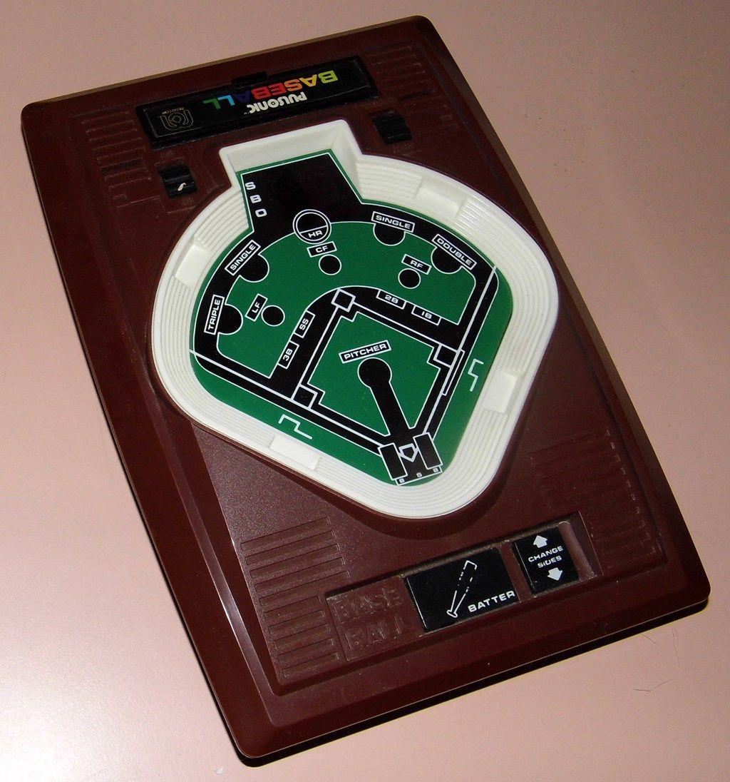 Vintage Mego Pulsonic Baseball Electronic Handheld Game