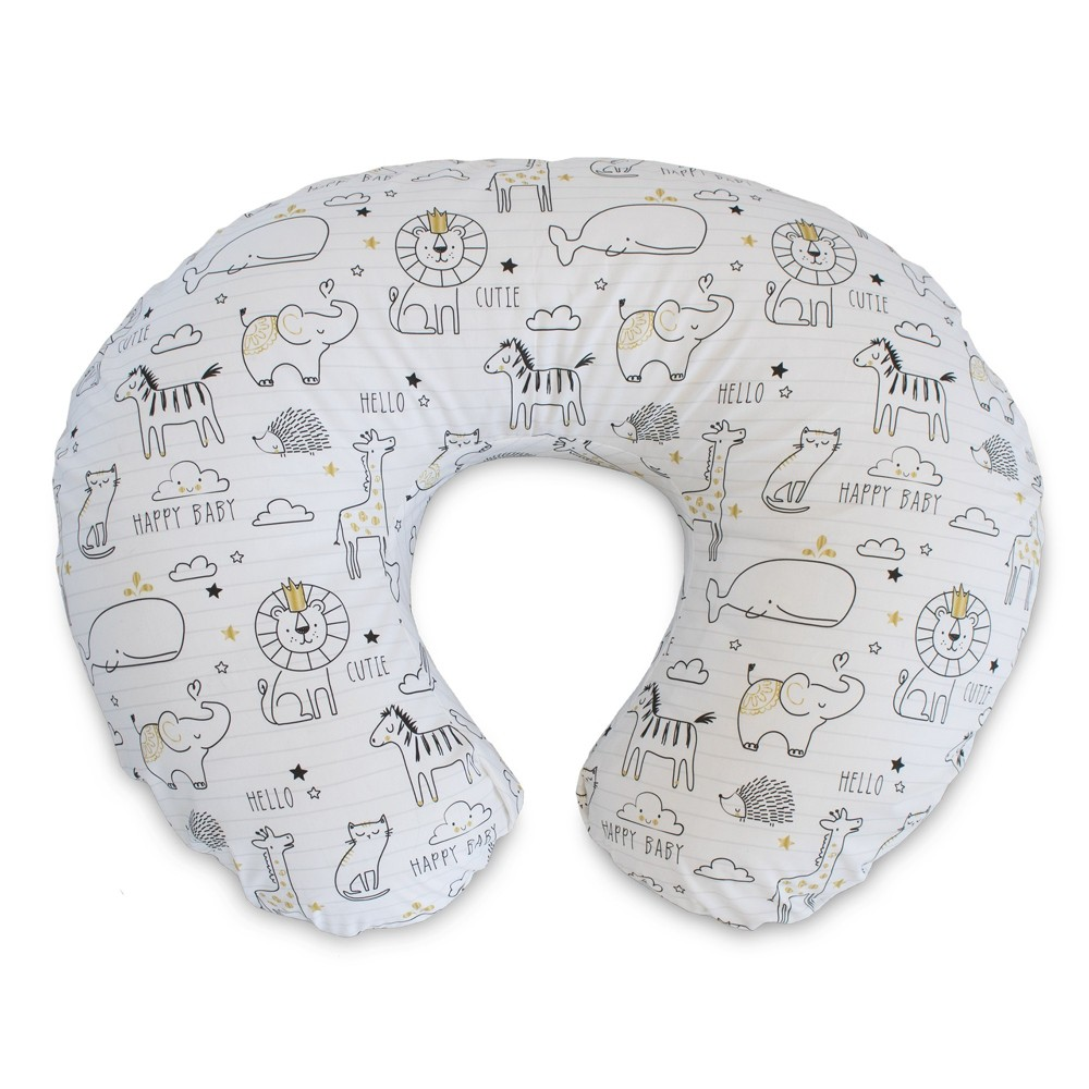 Boppy Notebook Nursing Pillow and Positioner - White