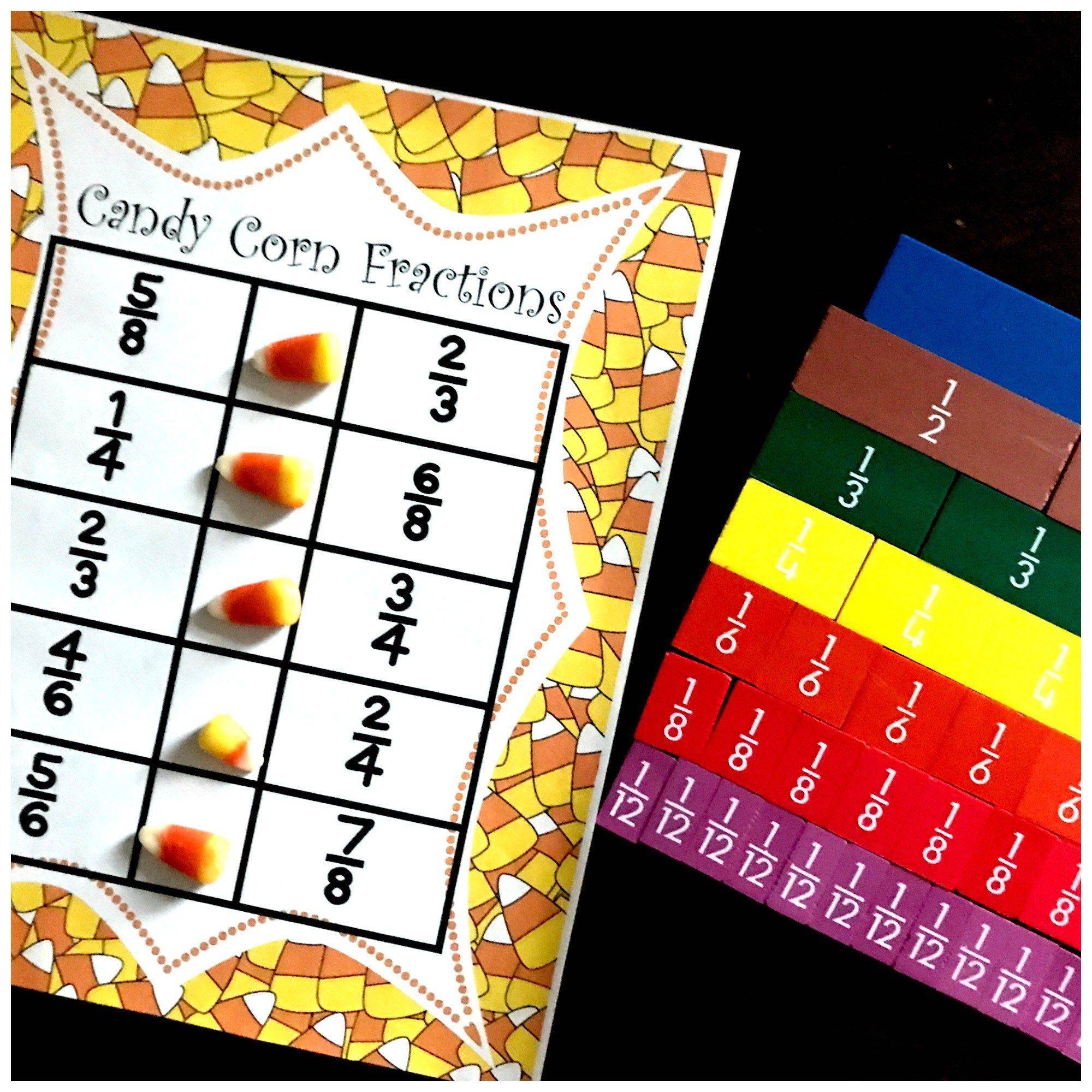 Candy Corn Fractions