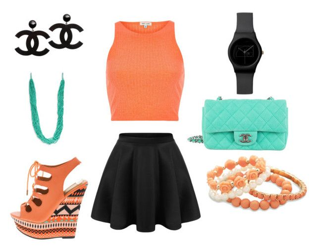 """""""Summer Ready!"""" by simply-ce ❤ liked on Polyvore featuring River Island, Chanel, BillyTheTree and Robert Rose"""