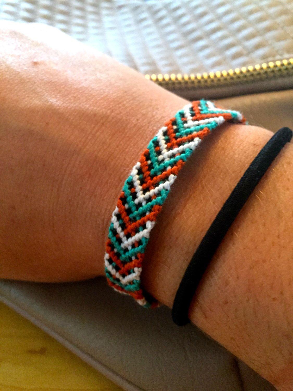 Customized Friendship Bracelet Custom String With Criss Cross Pattern Stackable Bracelets By Behybracelets On Etsy