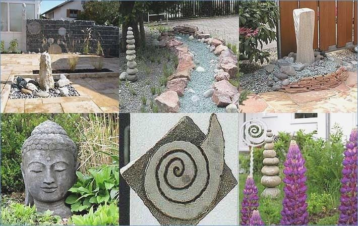Homemade figures in the garden is part of Homemade garden Borders - Gartendeko yourself make ideas & tips LIVING AT HOME img Source livingathome de Homemade figures in the garden the best 25 homemade treading ideas on diy tutorial for homemade upcycling concrete tiles in moroccan look with concrete color and concrete slabs as decorative paving slabs for the garden in the carpet look leelahloves diy ornaments  make …