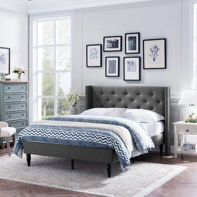 0ecd290f972666 Alcott Hill Chelsea Traditional Bed Frame | Products | Traditional ...