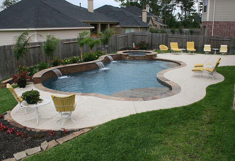 Stacked Stone Spa Backyard Pool Landscaping Backyard Pool Luxury Swimming Pools