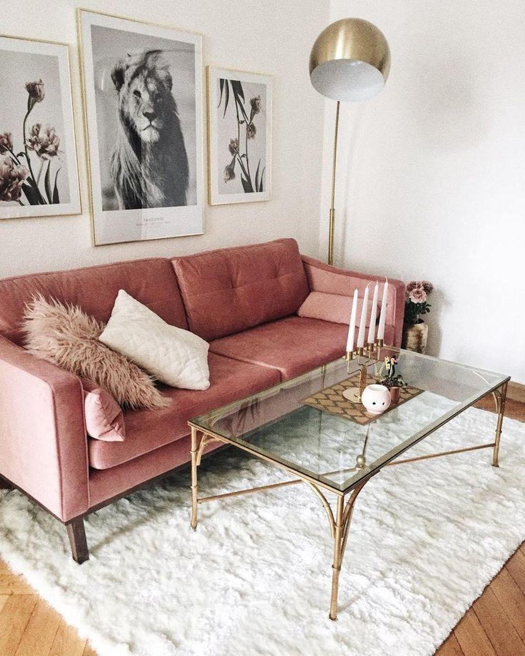 44 stunning lovely velvet living room furniture ideas mirrored rh pinterest com