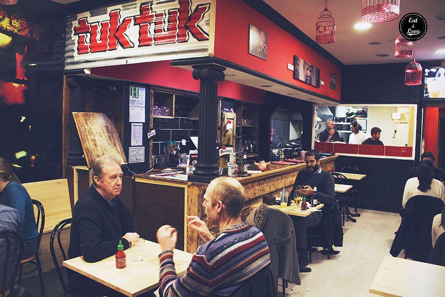 Tuk tuk - street food restaurante asiático Madrid