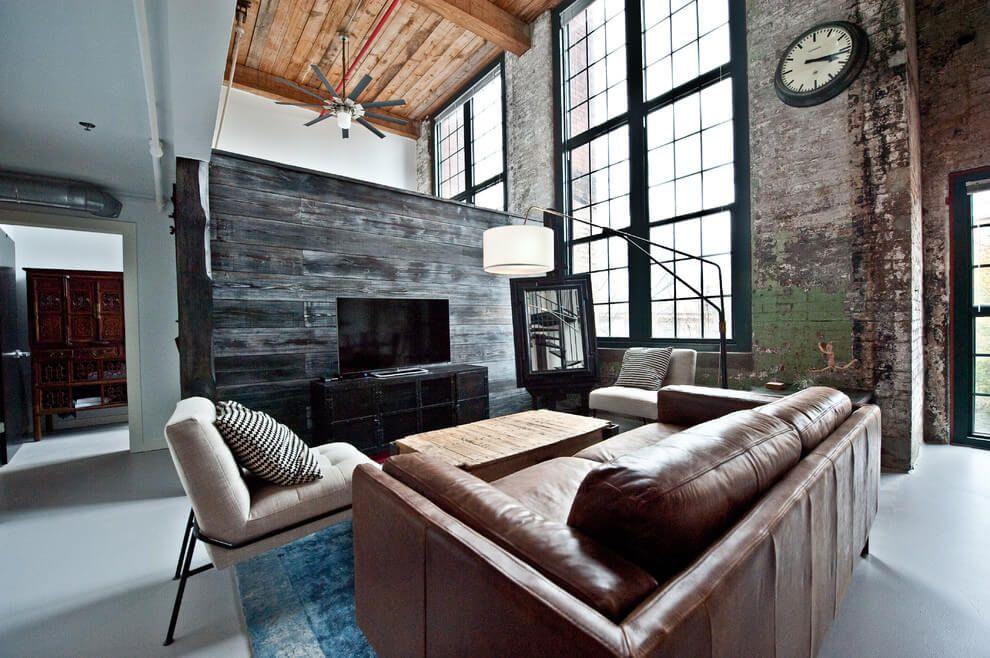 Loft in atlanta by heirloom design build architecture