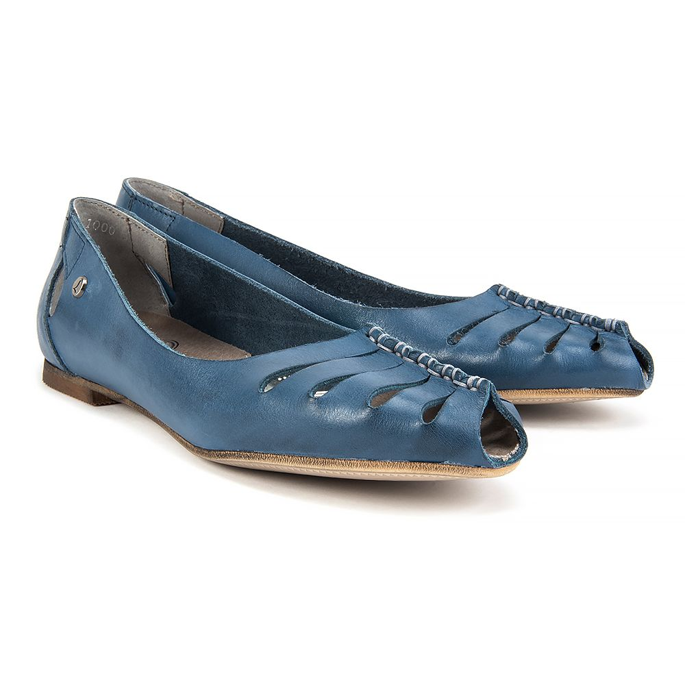 Polbuty Lemar 10009 Bf Niebieski Polbuty I Mokasyny Buty Damskie Filippo Pl Shoes Fashion Flats
