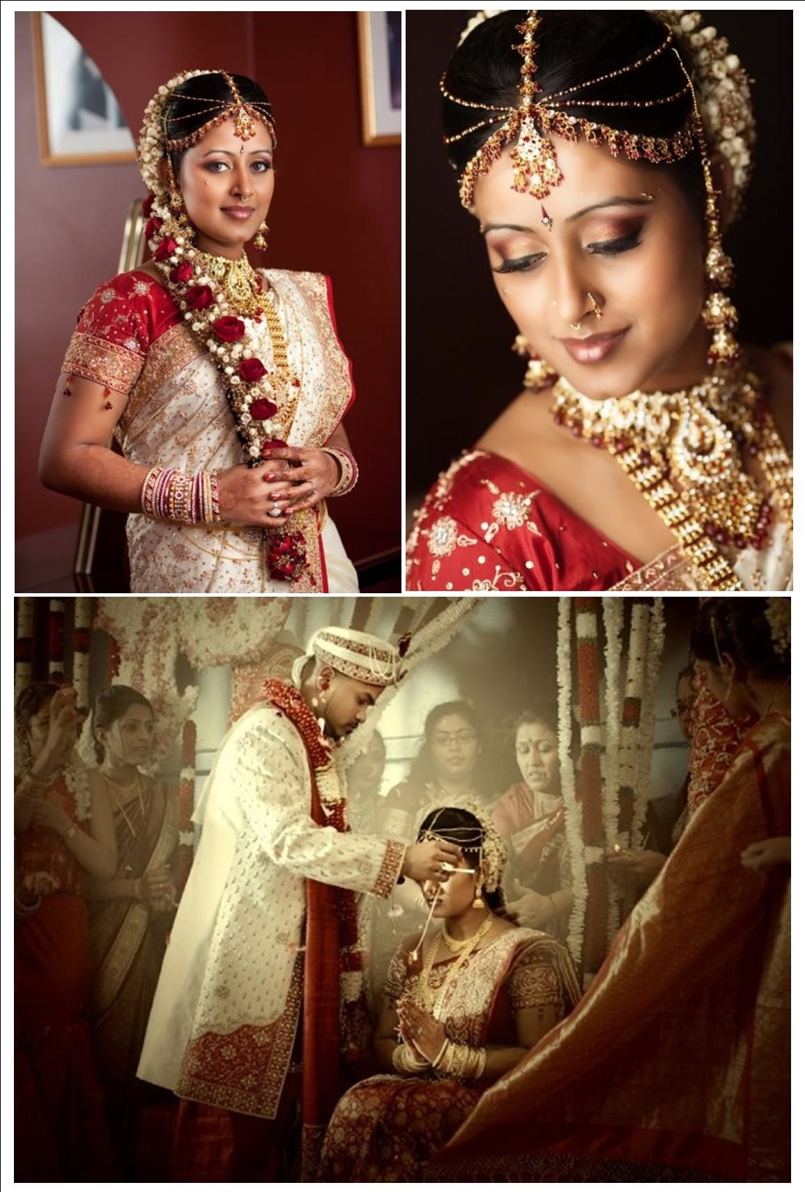 indian wedding hairstyle gallery%0A Tamil wedding
