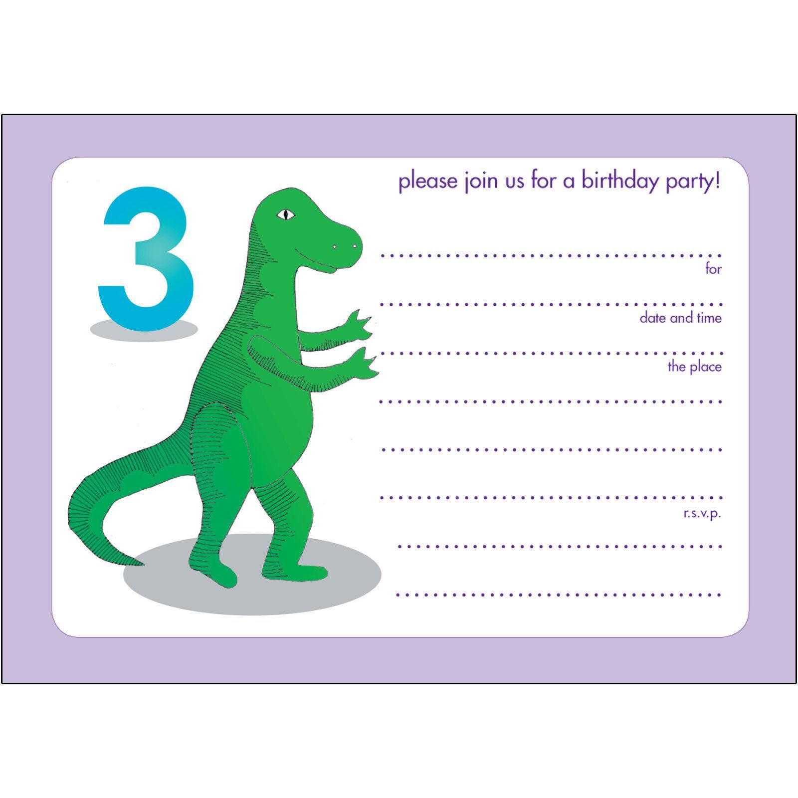 Printable 3td dinosaur birthday invitations templates birthday printable 3td dinosaur birthday invitations templates filmwisefo