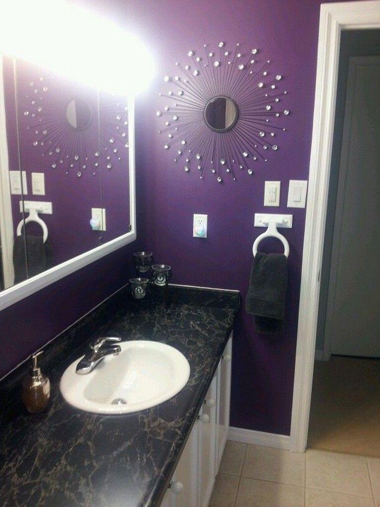 15 beautiful purple bathroom designs bathroom bathroomideas rh pinterest com