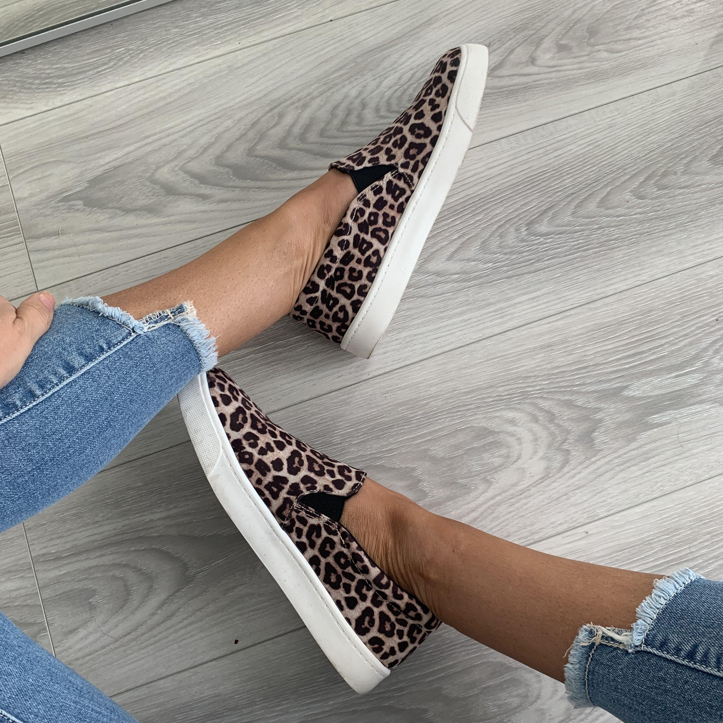 Cheetah Print Shoes - UOIOnline.com