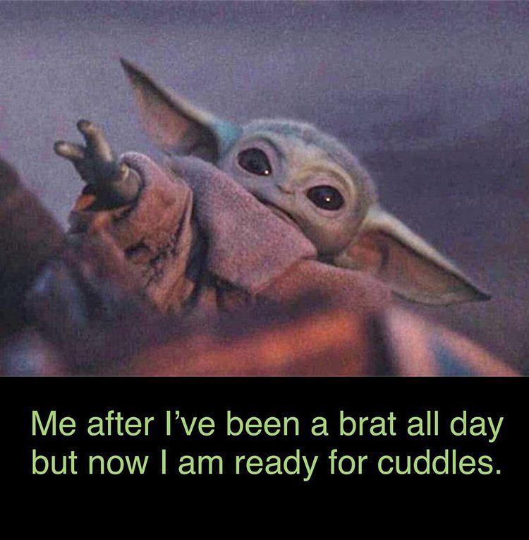 Baby Yoda Yoda Funny Yoda Meme Animal Puns Funny