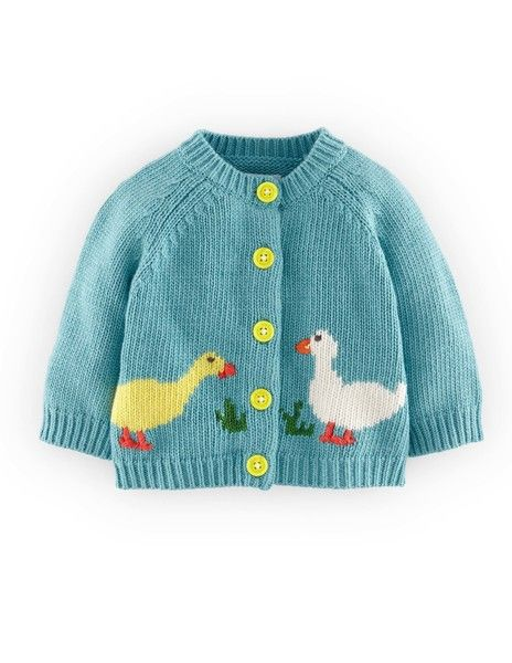 We Like Knitting: Sheep Yoke Baby Cardigan - Free Pattern ...