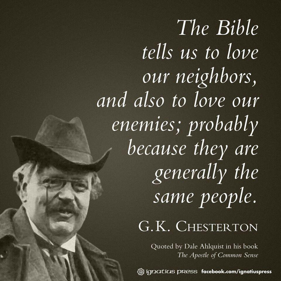 Gk Chesterton Quotes Unique Gkchesterton Quote  Gkchesterton Wit And Wisdom