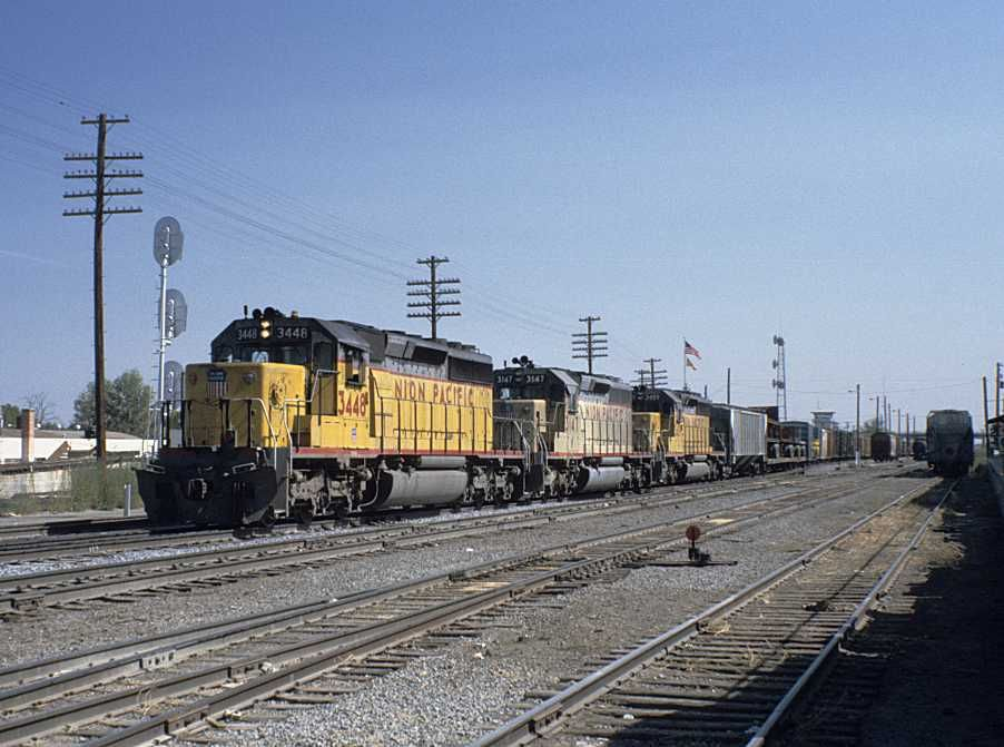 Union Pacific Freight Train Symbol Lahk At Nampa Id Union Pacific