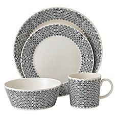 image of Royal Doulton® Foulard Star 4-Piece Place Setting