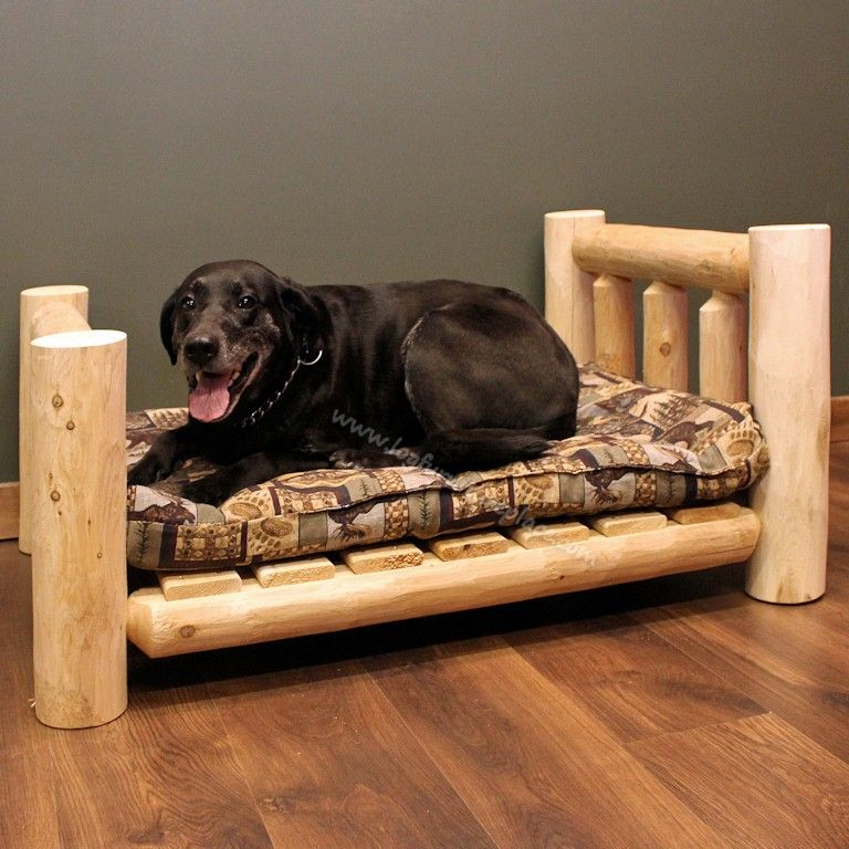 Treat Pets Like Family With Log Furniture Pet Furniture Dog Furniture Pet Beds