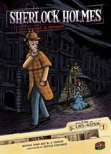 Image result for Sherlock Holmes and a scandal in Bohemia book cover
