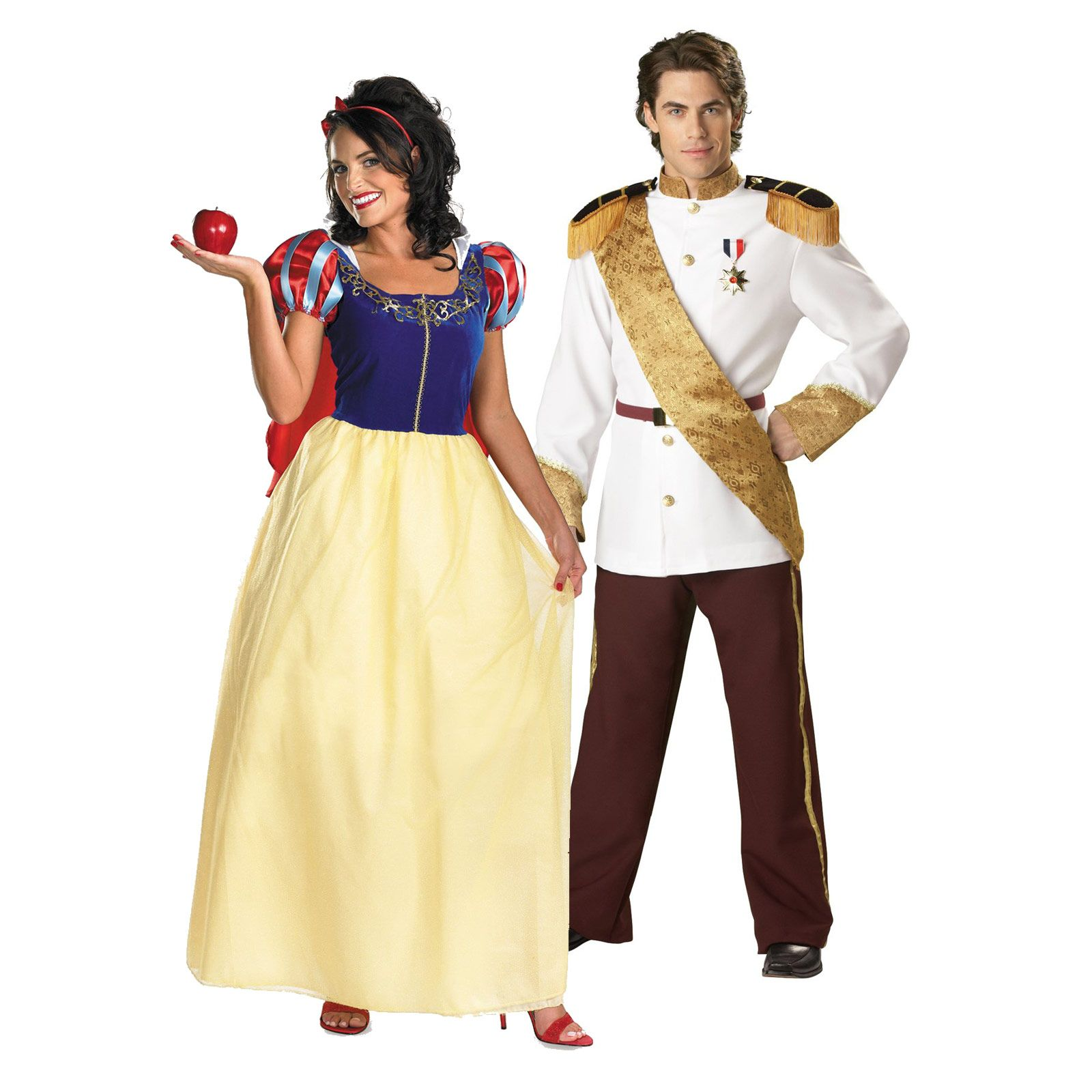 snow white prince charming couples costume top